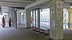 Станция метро Пионерская. Архивное фото