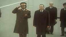 Визит Муаммара Каддафи в СССР в 1985 году. Архивные кадры