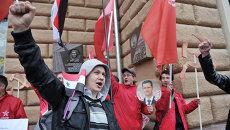 Акция в поддержку народа Сирии в Москве