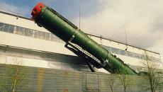 Боевой железнодорожный ракетный комплекс. Архивное фото