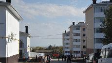 Заселенный микрорайон Озерки в Крымске