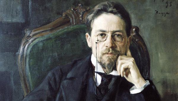 Репродукция картины Портрет А. П. Чехова