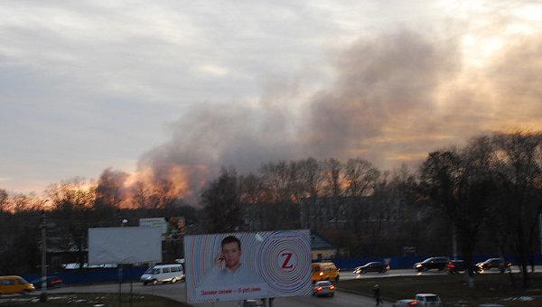 Взрыв на складе с боеприпасами на Верхней Террасе