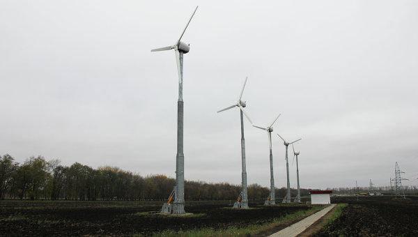 Ветротурбинные генераторы. Архивное фото