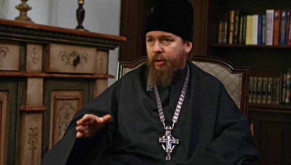 Наместник Сретенского монастыря отец Тихон (Шевкунов). Архив