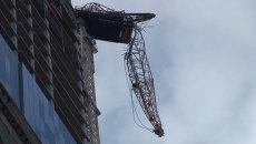 Сломанный Сэнди башенный кран стал опасной достопримечательностью Нью-Йорка
