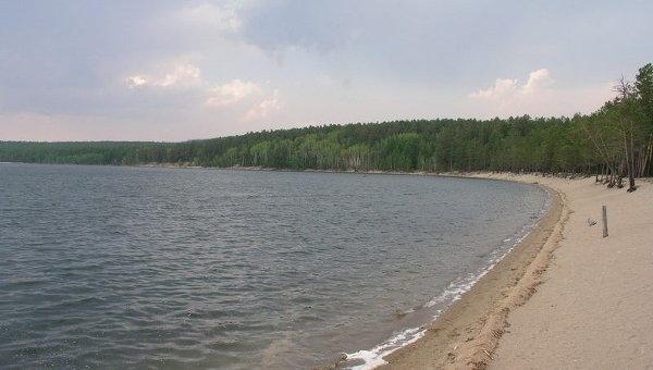 Озеро Арей в Забайкальском крае. Архивное фото