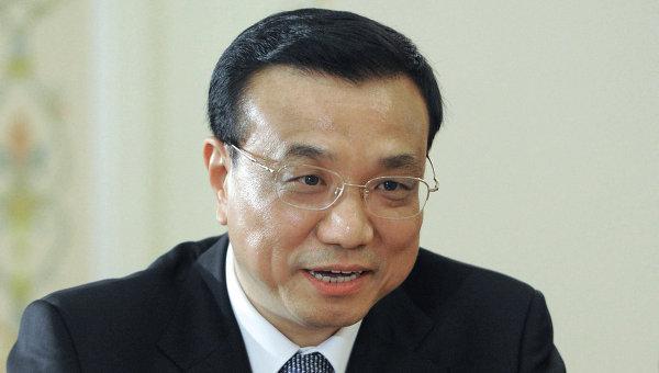 Премьер Государственного совета Китая Ли Кэцян. Архив