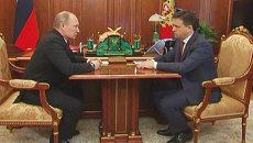 Путин объяснил, для чего направляет Воробьева руководить Подмосковьем