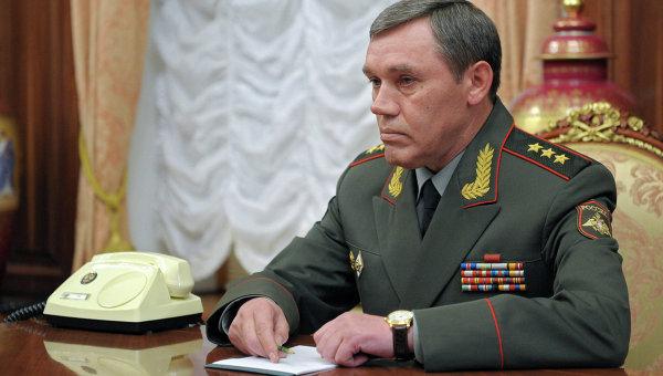 Новый глава Генштаба ВС РФ Валерий Герасимов в Кремле на встрече с президентом России