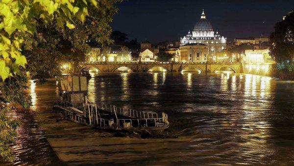 Затопленные берега в Италии
