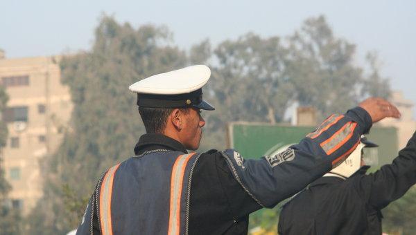 Египетский полицейский. Архивное фото
