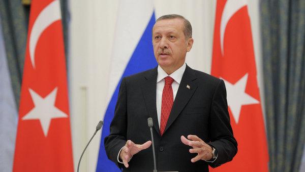 Премьер-министр Турции Реджеп Тайип Эрдоган, архивное фото