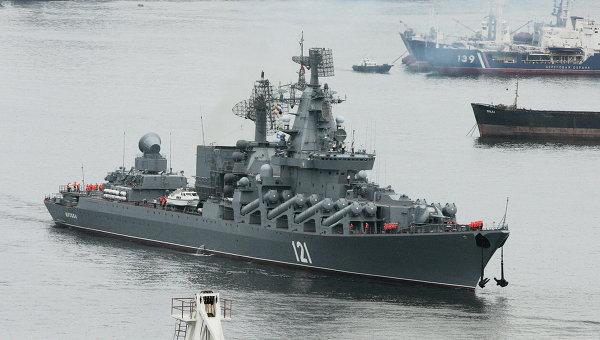 Крейсер Москва. Архив