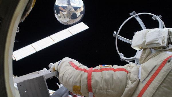 Космонавт, архивное фото
