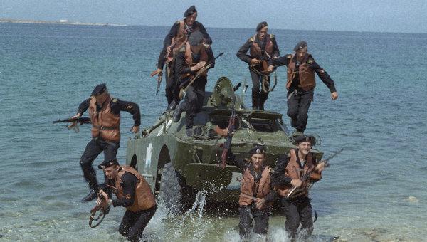 десантная группа рыбаков