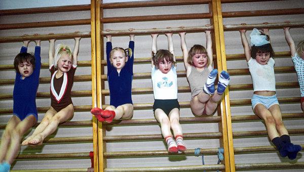 Занятия в детской спортивной секции. Архивное фото