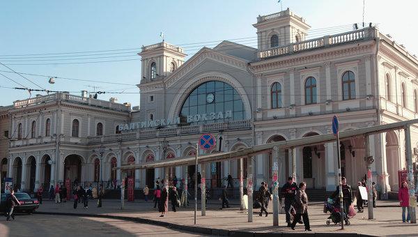 Балтийский вокзал в Санкт-Петербурге. Архив