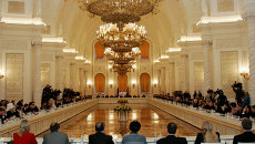 Заседание Общественной палаты РФ. Архивное фото