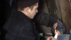 Подозреваемый в девяти убийствах показал, как расправлялся с жертвами
