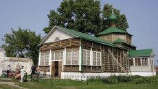 Свияжский Богородице-Успенский монастырь на острове Свияжск. Архивное фото