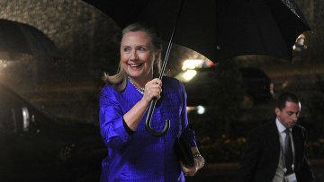 Бывший госсекретарь США Хиллари Клинтон. Архивное фото