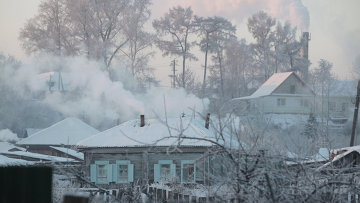 Морозы в регионах России. Архивное фото