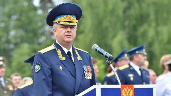 Начальник космодрома генерал-майор Александр Головко