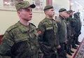 Военнослужащие демонстрируют новую форму российской армии