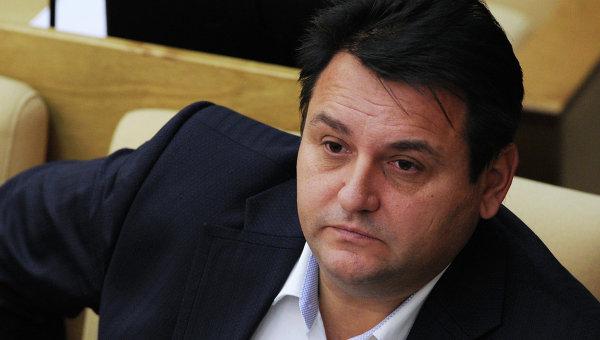 Депутат фракции Справедливая Россия Олег Михеев, архивное фото