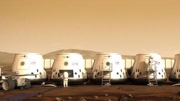 Будущее марсианское поселение проекта Mars One
