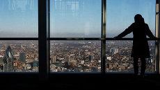 Смотровая площадка на самом высоком небоскребе Лондона Shard