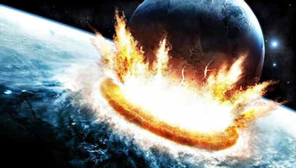 Падение астероида может вызвать взрыв на противоположной стороне Земли