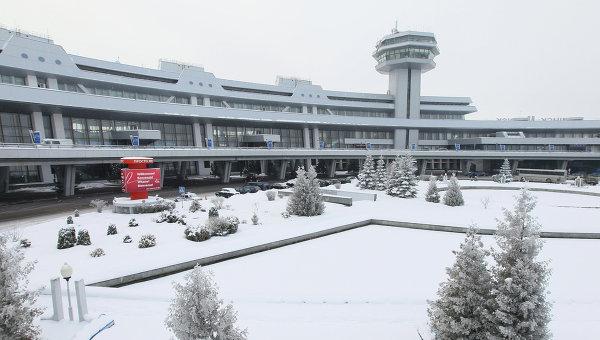 Внешний вид здания национального аэропорта Минска. Архивное фото