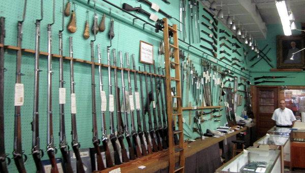 Продажа оружия в США, архивное фото