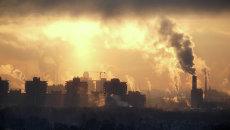 Загрязнение воздуха. Архивное фото
