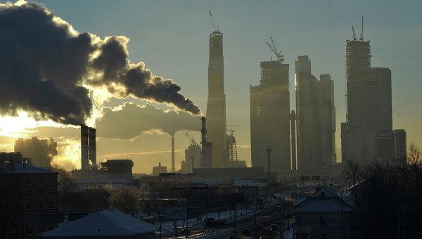 Вид Москва-Сити. Архивное фото