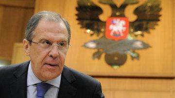 Министр иностранных дел Российской Федерации С.В.Лавров, архивное фото