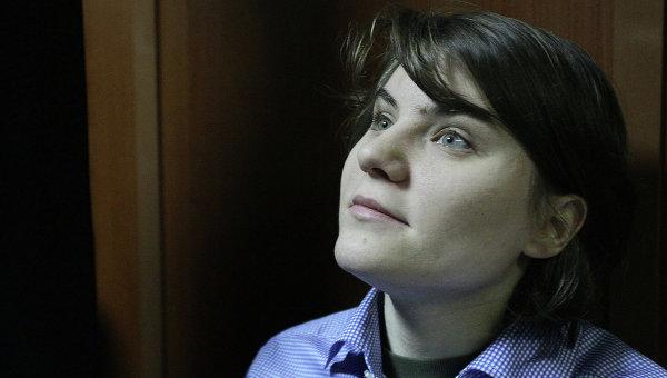 Участница панк-группы Pussy Riot Екатерина Самуцевич. Архивное фото