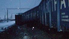 Авария на железной дороге в Чувашии