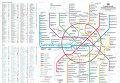 Схема Московского метро Студии Артемия Лебедева