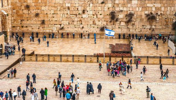 Стена плача в Иерусалиме. Архивное фото.