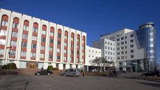Здание Министерства иностранных дел Республики Беларусь. Архивное фото