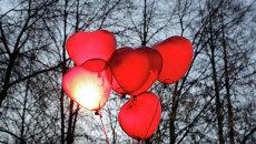 Празднование Дня святого Валентина. Архивное фото