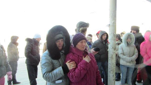 Митинг в память девушки, сбитой насмерть машиной инспектора ГИБДД в Новосибирске