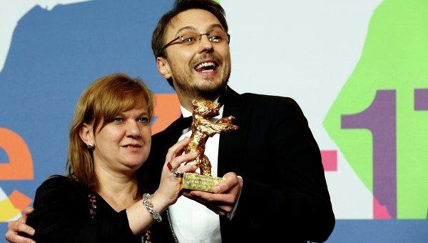 Режисер Калин Питер Нецер и продюсер Ада Соломон получили Золотого медведя на Берлинале-2013