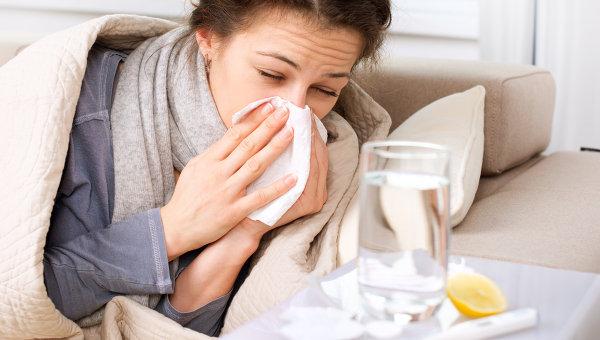 Заболевание гриппом. Архивное фото