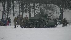 Поляки в советской форме отвоевали Познань на реконструкции битвы 1945 года