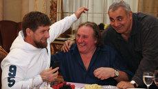 Французский актер Жерар Депардье прибыл в Грозный