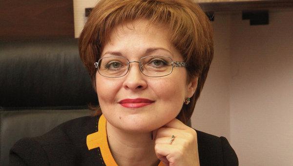 Начальник УФМС по Москве Ольга Кириллова